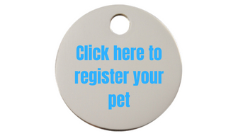 Click here to register your pet 1