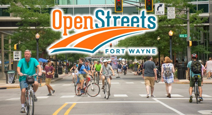 Open Streets Fort Wayne Returns July 14